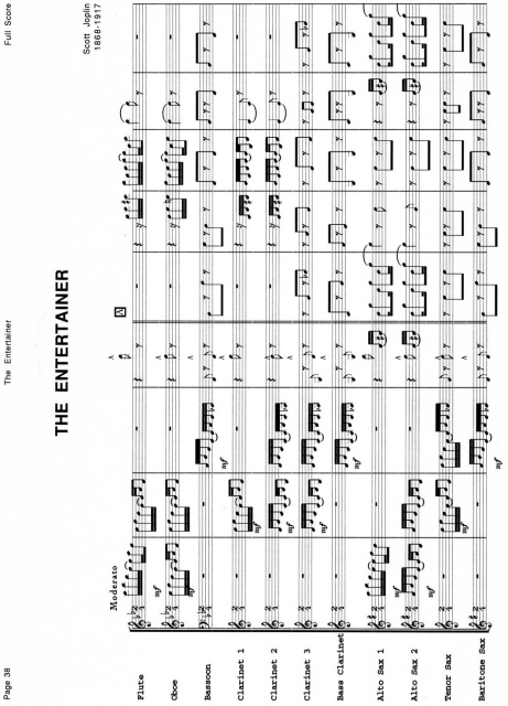 Full Score for Woodwind Choir Collection